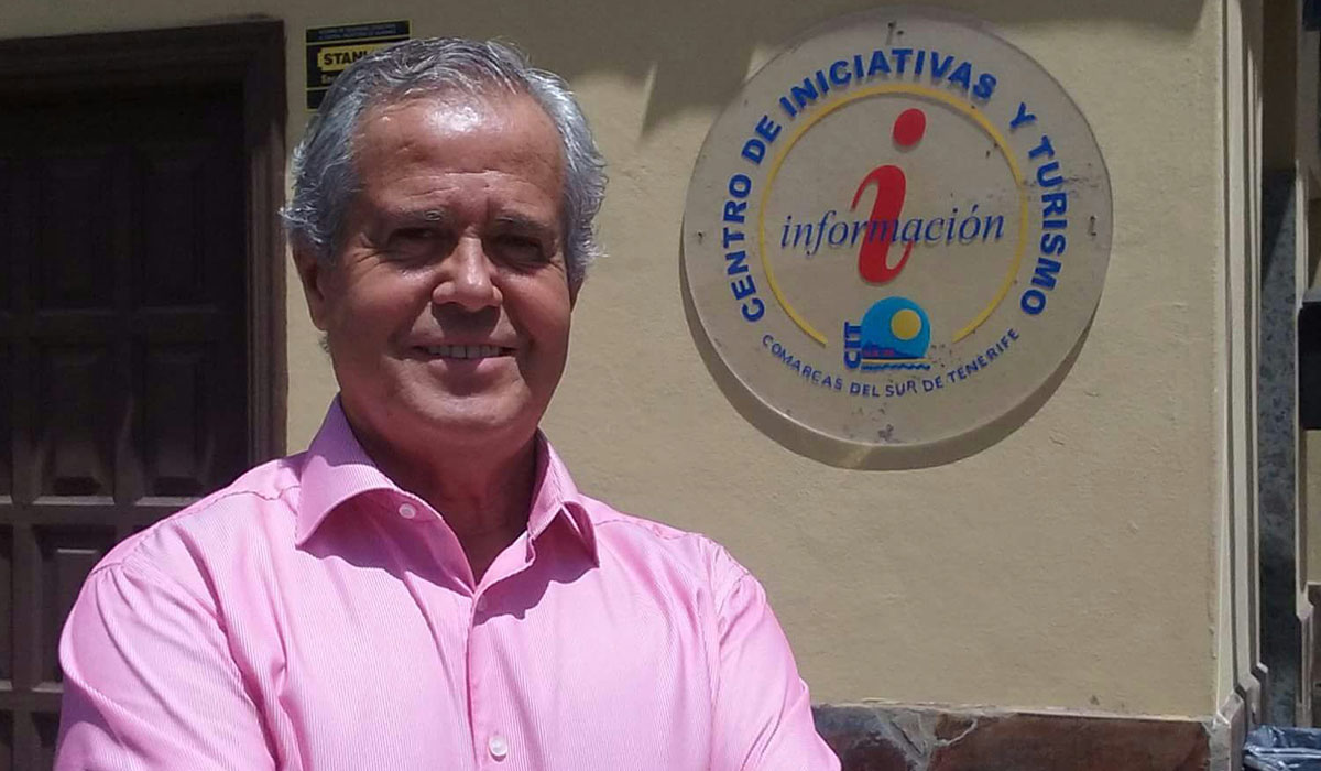 Rafael Dolado, presidente del Centro de Iniciativas y Turismo del Sur . DA
