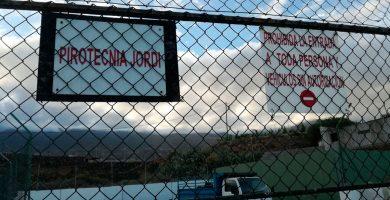 Denuncian la ampliación en suelo rústico de una pirotecnia en Arafo
