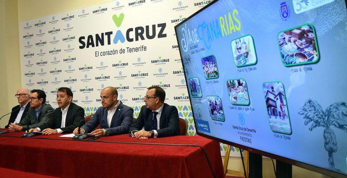 Santa Cruz llenará las calles de actividades tradicionales para celebrar el Día de Canarias