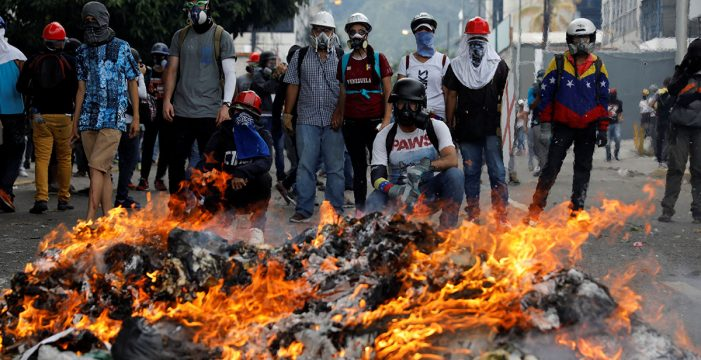 """La ONU alerta de que la violencia en Venezuela ha llegado a niveles """"muy elevados"""""""