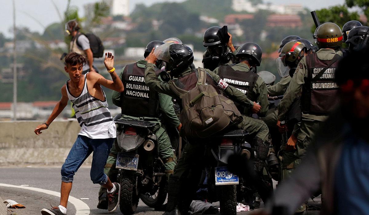 VENEZUELA PROTESTAS 2017 MAYO