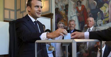 Emmanuel Macron, presidente francés. REUTERS/Christophe Archambault