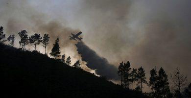 Se estrella un avión de extinción de incendios en Portgual