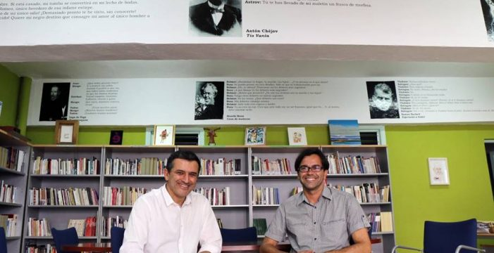 La Biblioteca Antonio Abdo, un oasis del teatro a pie de calle