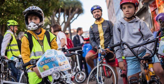 """La Biciguagua, un proyecto pionero que hace a Aguere """"más saludable"""""""