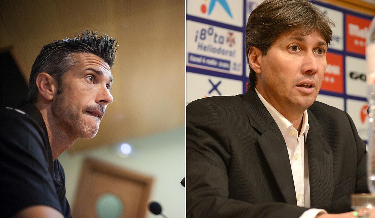 El preparador balear y el director deportivo vallisoletano seguirán en el club, como mínimo, una temporada más. Andrés Gutiérrez -Sergio Méndez