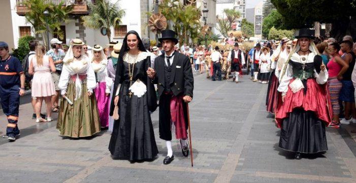 Los Llanos de Aridane celebra el día más típico de las fiestas de La Patrona