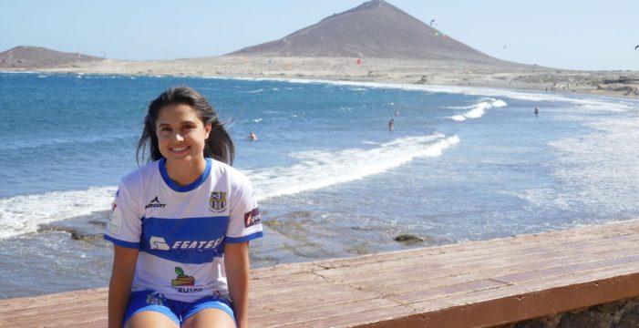 Jordyn Listro es el nuevo fichaje de la U.D.G. Tenerife Egatesa