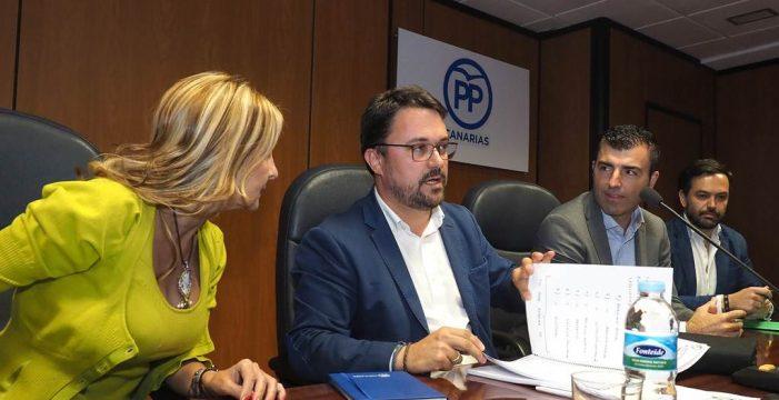 """El PP acuerda negociar con CC si """"es ya"""", pues no quiere """"perder el tiempo"""""""