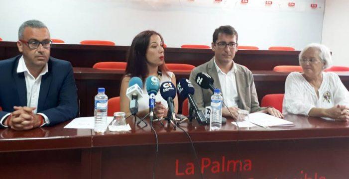 El PSOE pide que se compense también a las capitales de las islas periféricas