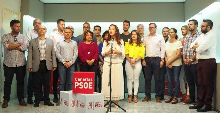 """Patricia Hernández se compromete a crear la """"secretaría de los afiliados"""""""