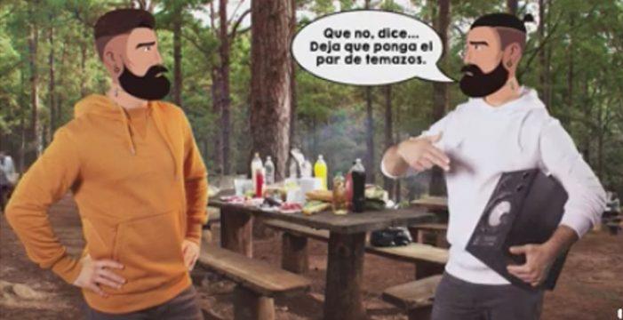 'El típico de Tenerife' protagoniza una campaña de respeto ambiental