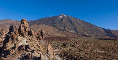 Rescatan a un escalador herido en el Teide