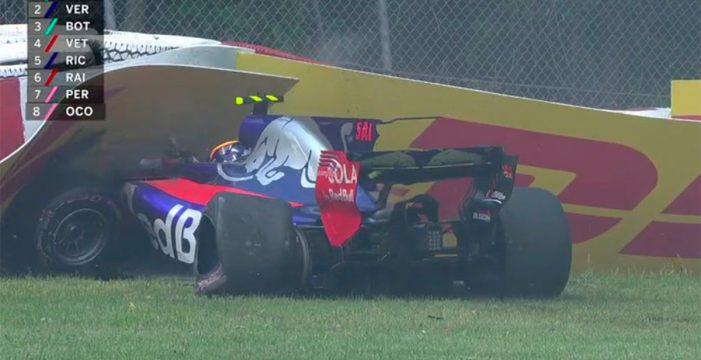 Así fue el accidente de Carlos Sainz en el GP de Canadá