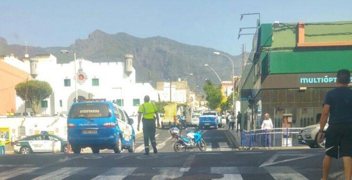 Un hombre fallece tras una colisión múltiple en Güímar