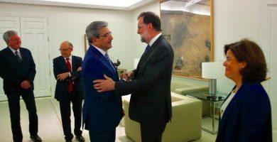 Rajoy y Román Rodríguez firman mañana en Gran Canaria el acuerdo de los PGE