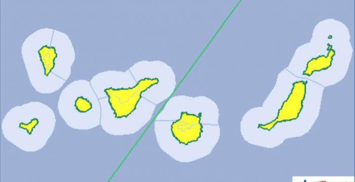 Canarias continúa este sábado en riesgo amarillo por altas temperaturas que alcanzarán los 36 grados