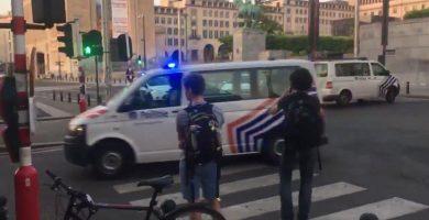 """Una persona """"neutralizada"""" tras provocar una explosión en la estación central de Bruselas"""