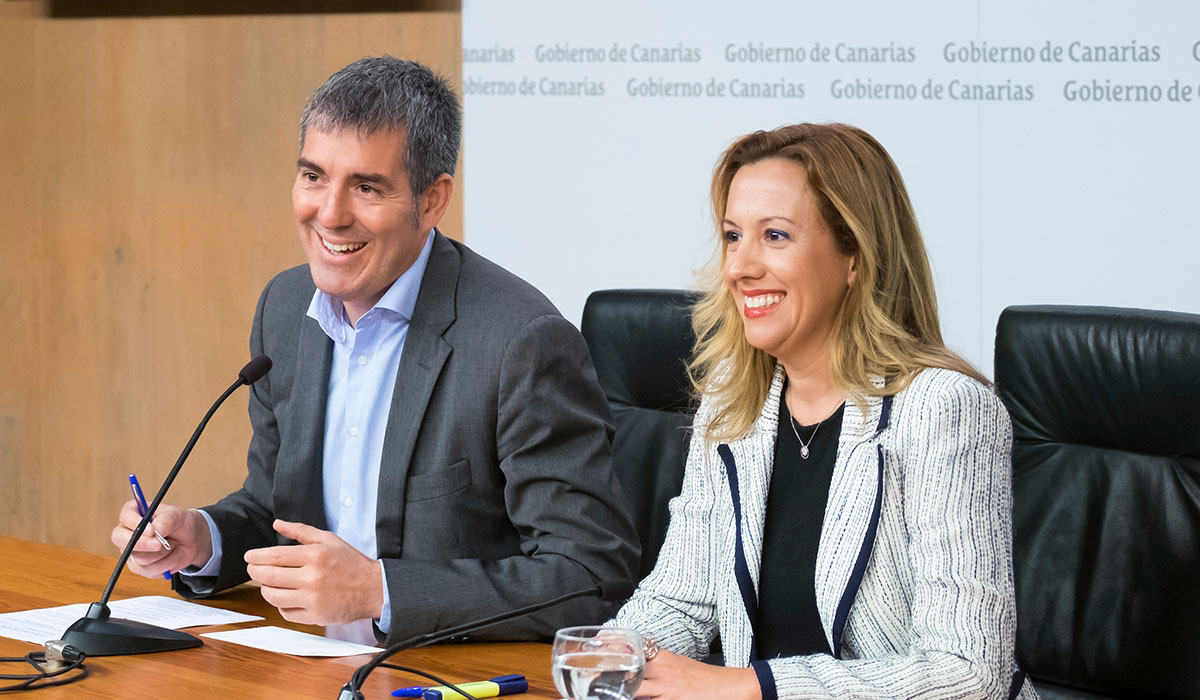 Fernando Clavijo y Rosa Dávila