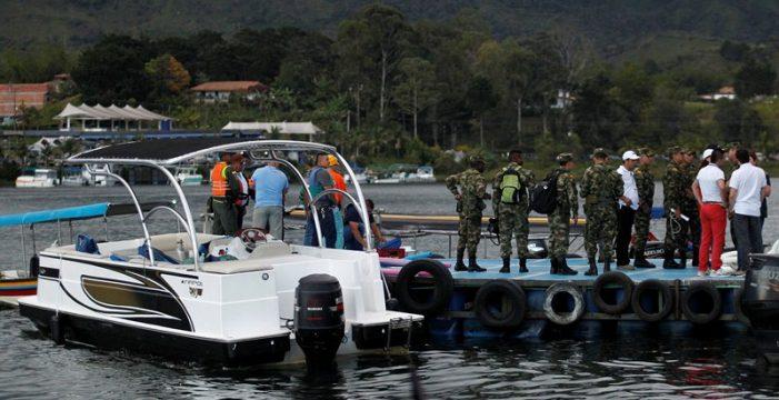 Aumentan a diez los muertos por el hundimiento de una embarcación en Guatapé