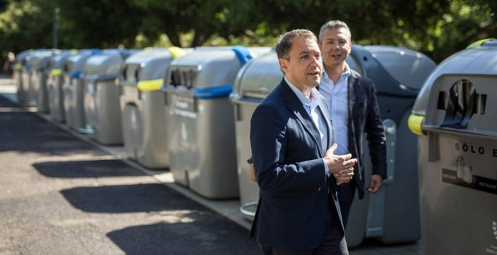 Santa Cruz gasta 4 millones para 6.000 contenedores en 10 años