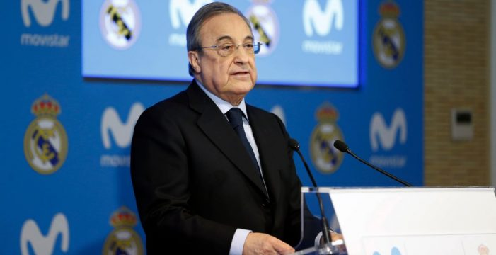 Florentino Pérez, reelegido presidente del Real Madrid por quinta vez