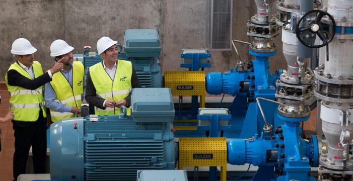 La desaladora de Fonsalía hará llegar 2.000 metros cúbicos de agua al día a los agricultores del sur