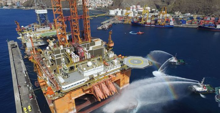 Encuentran un pez invasor en Tenerife que pudo llegar en plataforma petrolífera