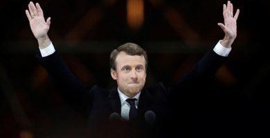 Emmanuel Macron, presidente francés. REUTERS