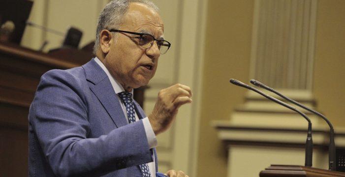 """Curbelo (ASG) dice que la Ley del Suelo es la """"mejor"""" que puede tener Canarias"""