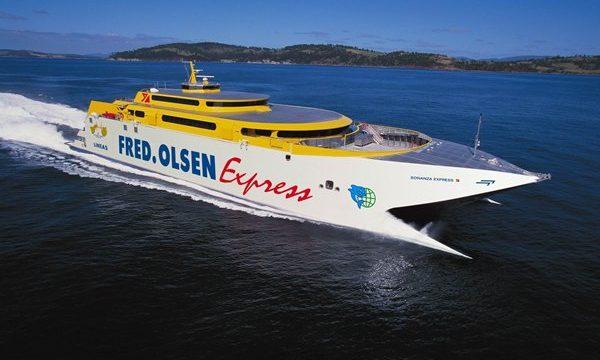 Fred. Olsen y Balearia acuerdan transporte entre Canarias y Península
