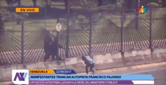 Detenido un sargento en Caracas que mató a tiros a un joven durante una manifestación opositora
