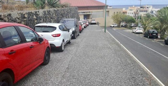 La ACP propone utilizar el parking del CEIP Punta Brava durante el verano