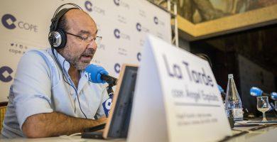 Ángel Expósito, periodista, presentador del programa 'La Tarde' en la COPE. Andrés Gutiérrez