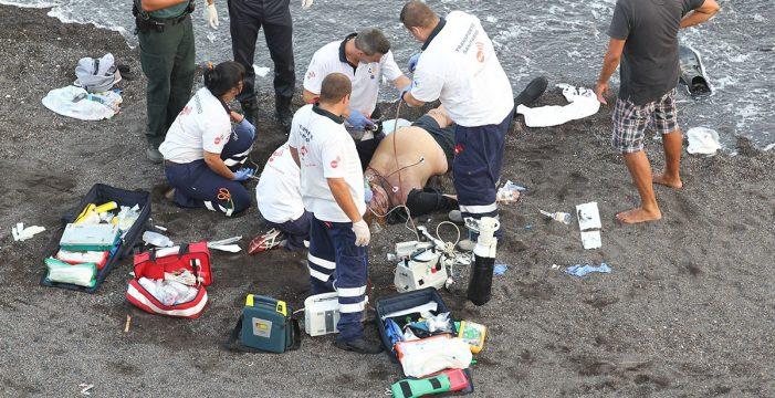 Canarias ya registra el 20% más de ahogados que el año pasado