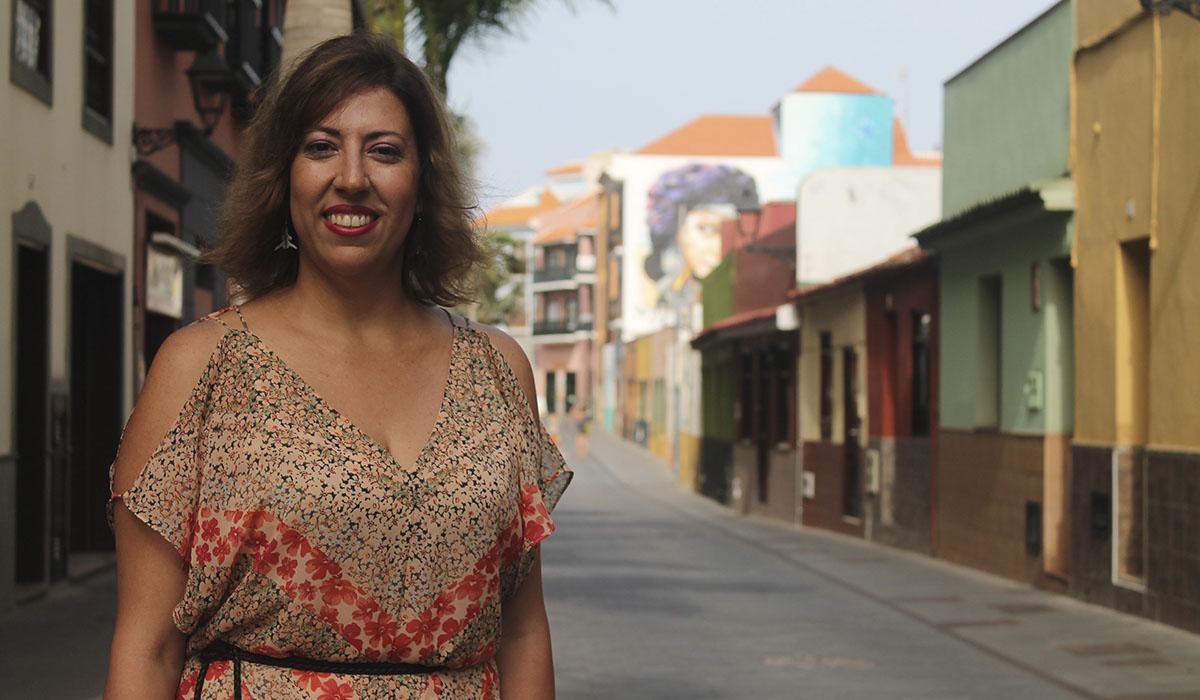 Sandra Rodríguez, edil de Cultura del Ayuntamiento del Puerto de la Cruz. DA