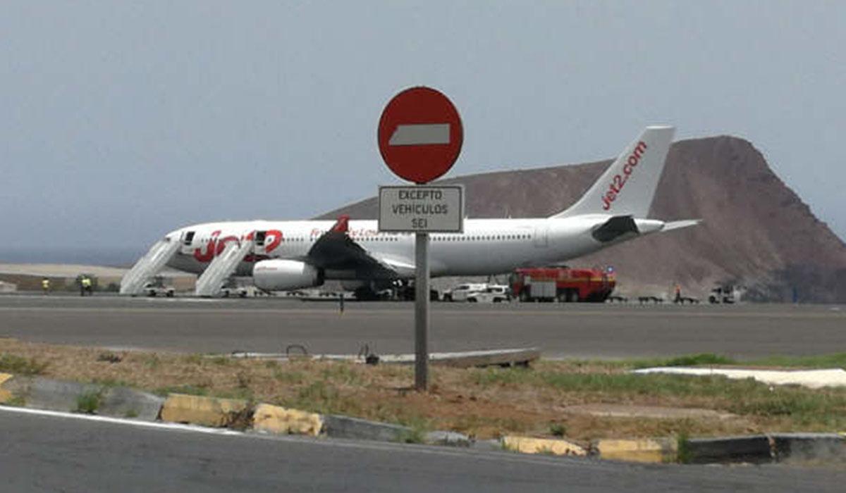 El Airbus A330 que sufrió el reventón de los neumáticos del tren de aterrizaje es uno de los más pesados en la actualidad; el incidente obligó al desvío de 33 vuelos. Emergenciasyalertas.com