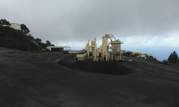 Descartada la planta de asfalto móvil para Fuencaliente propuesta por la UTE