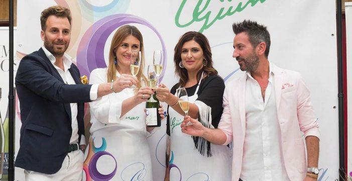 Carlota Corredera promociona Güímar con vino, arte y moda