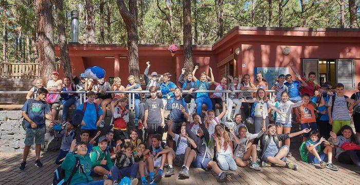 300 niños disfrutan en La Esperanza de los campamentos  de verano que organiza el Cabildo