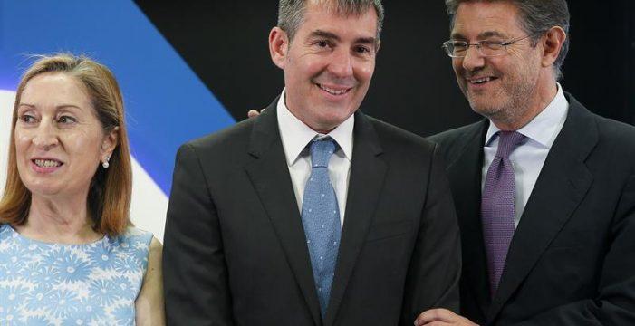 Clavijo, preguntado en un foro en Madrid por sus encuentros con el PSOE canario