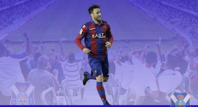 Víctor Casadesús, procedente del Levante UD, segundo fichaje del CD Tenerife