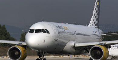 Imagen de archivo de un avión Vueling. DA