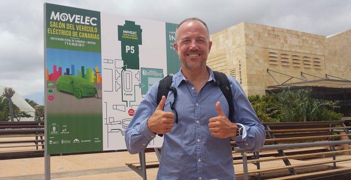 El aventurero Albert Boch quiere recorrer Canarias en coche eléctrico