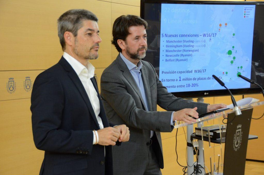 Alberto Bernabé y Carlos Alonso.