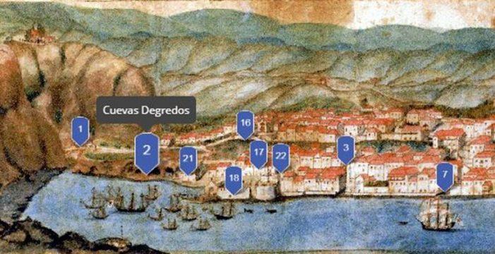 Una aplicación permite conocer la historia de la capital a través de 'La Palmaria'