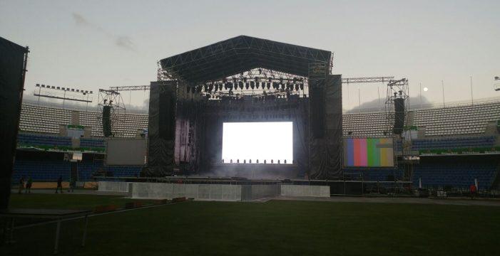Todo preparado para el gran concierto de Aerosmith en Tenerife
