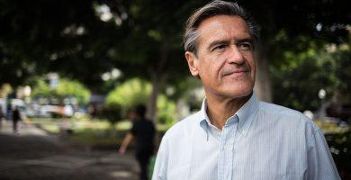 Juan Fernando López Aguilar, eurodiputado y candidato a la Secretaría General del PSOE en Canarias. Andrés Gutiérrez