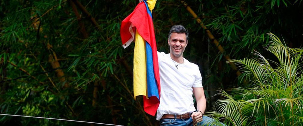 Leopoldo López en su domicilio | NTN24