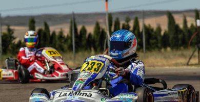 Santi Concepción karting